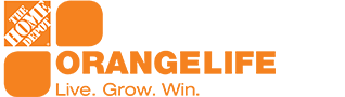 Live The Orange Life Logo